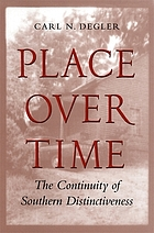 Place over time : the continuity of southern distinctiveness