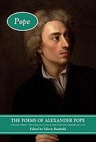 Poems of Alexander Pope