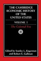 The Cambridge Economic History of the United States