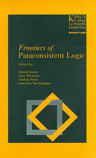 Frontiers of paraconsistent logic