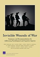 Invisible wounds of war : summary of key findings on psychological and cognitive injuries