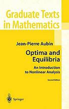 Optima and equilibria : an introduction to nonlinear analysis