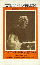 The veritable years : poems, 1949-1966 : including a selection of uncollected and previously unpublished poems