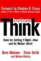 Business Think New Testament
