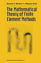 The Mathematical methods of finite element methods