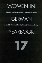 Women in German yearbook : feminist studies in German literature & culture. 17
