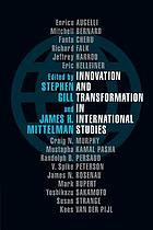 Innovation and transformation in international studies