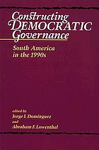 Constructing democratic governance : Latin America and the Caribbean in the 1990s