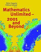 Mathematics unlimited : 2001 and beyond