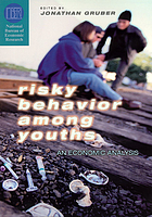 Risky behavior among youths an economic analysis