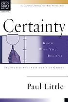 Know why you believe : 6 studies for individuals or groups, with guidelines for leaders & study notes, NIV text included