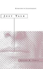 Just talk : narratives of psychotherapy