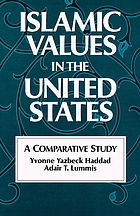 Islamic values in the United States : a comparative study