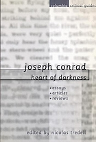 Joseph Conrad : Heart of darkness