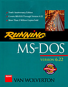 Running MS-DOS : version 6.2