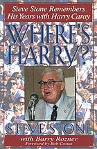 Where's Harry? : Steve Stone remembers his years with Harry Caray