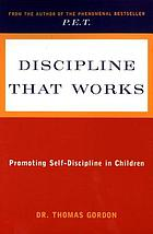 Teaching children self-discipline--at home and at school