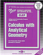 New Rudman's questions and answers on the CLEP College Level Examnination Program subject test in calculus with analytical geometry : test preparation study guide questions and answers