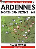 The Ardennes offensive. southern sector