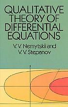Qualitative theory of differential equations