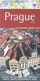 Prague 1:9500, the Rough Guide map : tough waterproof paper