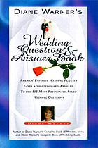 Diane Warner's wedding question & answer book