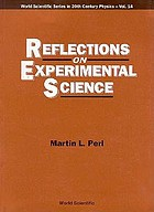 Reflections on experimental science