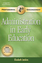 Administration in early education