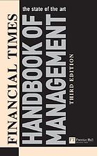 The Financial times handbook of management