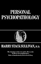 Personal psychopathology; early formulations
