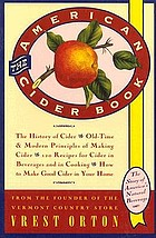 The American cider book; the story of America's natural beverage