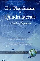 The classification of quadrilaterals : a study of definition