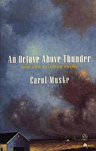 An octave above thunder : new and selected poems