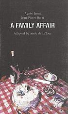 A family affair : un air de famille