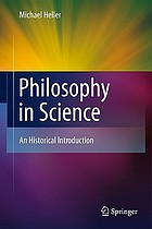 Philosophy in science an historical introduction