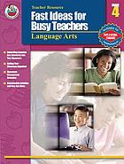 Fast ideas for busy teachers language arts, grade 4