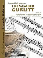 I remember Gurlitt