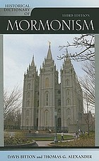 Historical dictionary of Mormonism