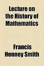 Lecture on the history of mathematics
