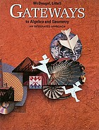 Gateways to algebra and geometry : an integrated approach