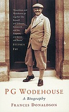 P.G. Wodehouse, a biography