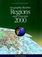 Geography : realms, regions, and concepts