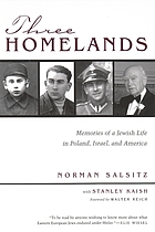 Three homelands : memories of a Jewish life in Poland, Israel, and America