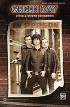 Green Day : lyric & chord songbook