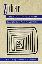 Zohar, the Book of splendor
