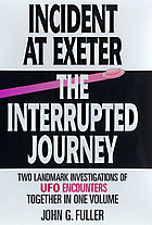 "The interrupted journey : two lost hours ""aboard a flying saucer"""