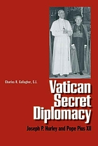 Vatican secret diplomacy : Joseph P. Hurley and Pope Pius XII