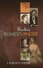 Reading women's poetry