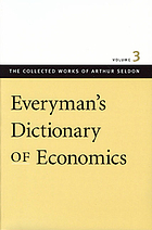 Everyman's dictionary of economics