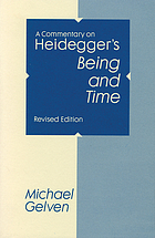 A commentary on Heidegger's Being and time